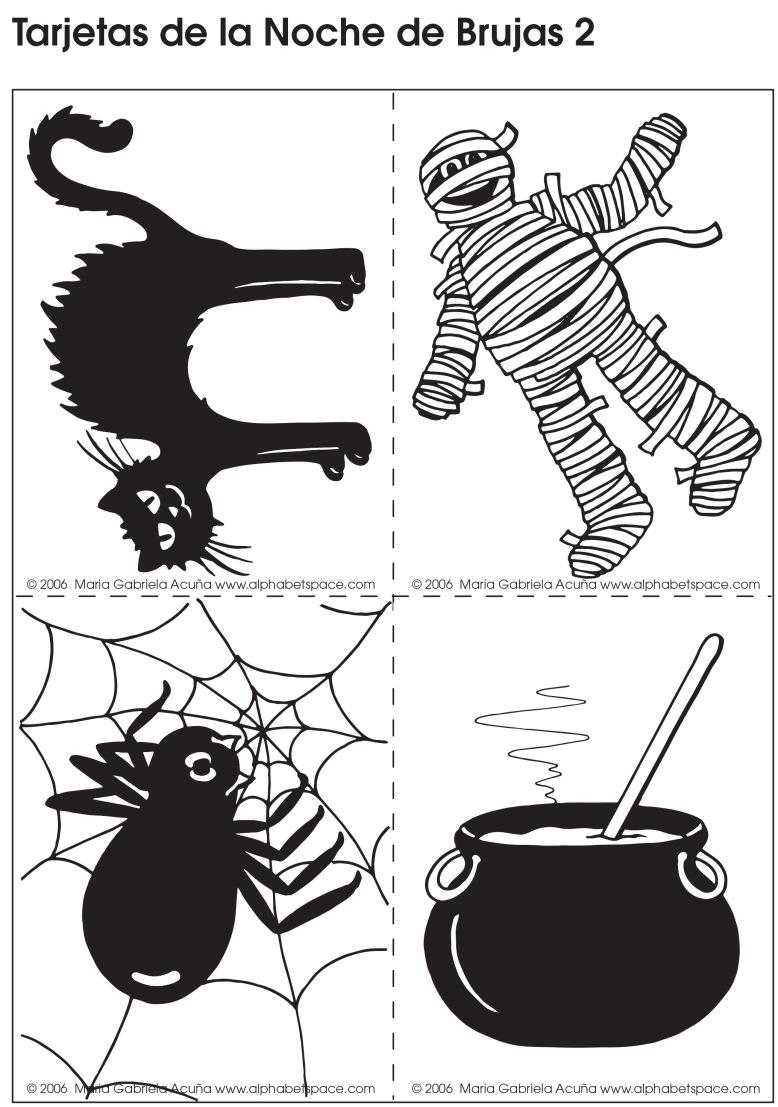 Tarjetas Halloween 2