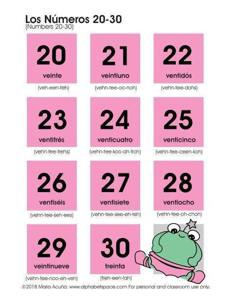 Los números 20-30. Maria Acuna 2018 www.alphabetspace.com V2.jpg