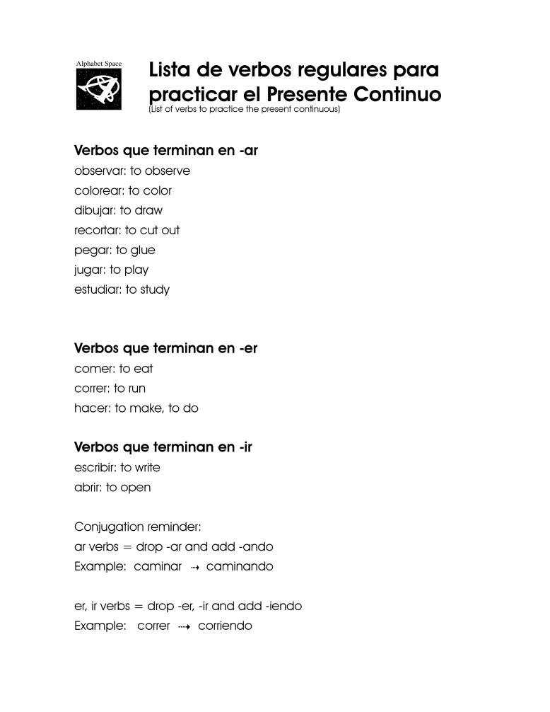 Lista de Vebos . Present Continuo.jpg